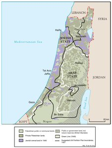 LAND OWNERSHIP IN PALESTINE, 1948